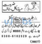 Medical Staff Jobs in Lahore 2021