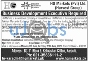 Full Time Permanent Jobs in Karachi 2021 For Business Development Executive