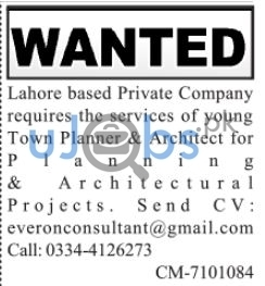Architect Jobs in Lahore 2021