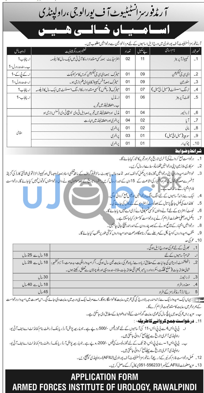 Male/Female Government Jobs in Rawalpindi Cantt June 2021