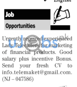 Female Telecallers Jobs For Marketing